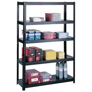 Safco Black Boltless 48x18-inch Shelf Unit