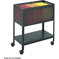 Safco Mesh Tub Open Top Filing Cart