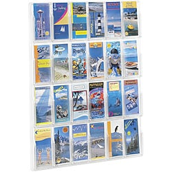 Safco Reveal 24-pamphlet Clear Display