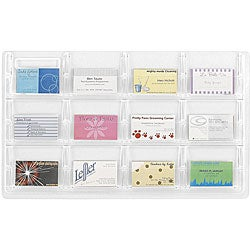 Safco Reveal 12-business Card Display