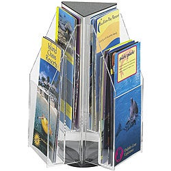 Safco Reveal Tabletop 6-pocket Pamphlet Display