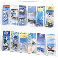 Safco Clear2c 12-pamphlet Display
