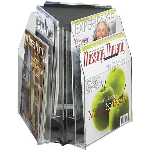 Safco Reveal Tabletop 6-pocket Magazine Display