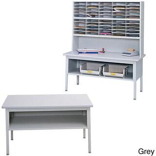 Safco E-Z Sort Grey Metal Sorting Table Base