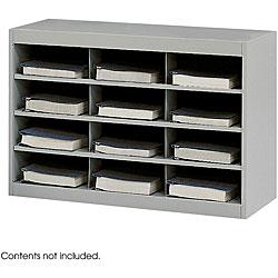 Safco 12-Compartment E-Z Stor Project Organizer