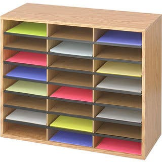office mailbox organizer. Safco 24 Compartment Literature Organizer Racks  Sorters For Less Overstock com