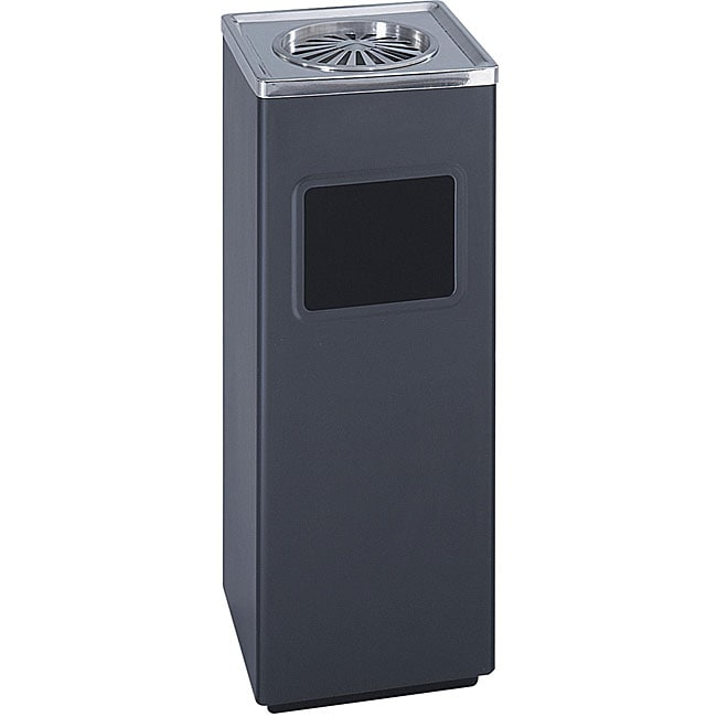 Safco Square Ash and Trash Waste Receptacle