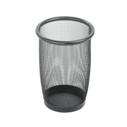 Safco Small Round Mesh Wastebaskets (Case of 3)