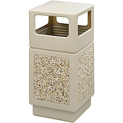 Safco 38-gallon Canmeleon Trash Receptacle