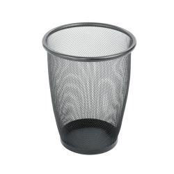 Safco Medium Round Mesh Wastebasket (Case of 3)