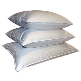 Swiss Damask 310 Thread Count 600 Fill Power White Down Pillow