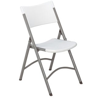 (4 Pack) NPS Heavy Duty Plastic Folding Chair