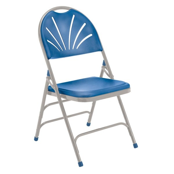 NPS Reinforced Fan-back Polyfold Chairs (Pack of 4)