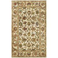 Safavieh Handmade Classic Ivory Wool Rug - 3' x 5'