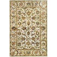 Safavieh Handmade Classic Ivory Wool Rug - 4' x 6'
