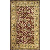 Safavieh Handmade Classic Rust/ Beige Wool Runner (2'3 x 4')