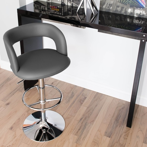 Rocco Adjustable-height Swivel Stool