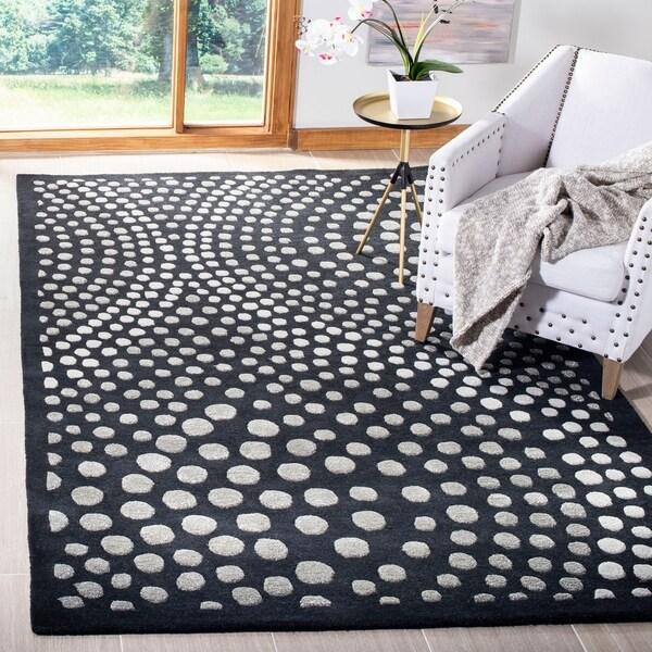 Safavieh Handmade Soho Liese Abstract Wave N.Z. Wool Rug