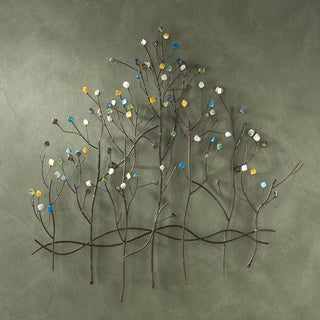 Upton Home Gemstone Forest Wall Sculpture