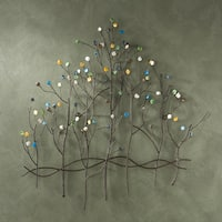 Harper Blvd Upton Home Gemstone Forest Wall Sculpture