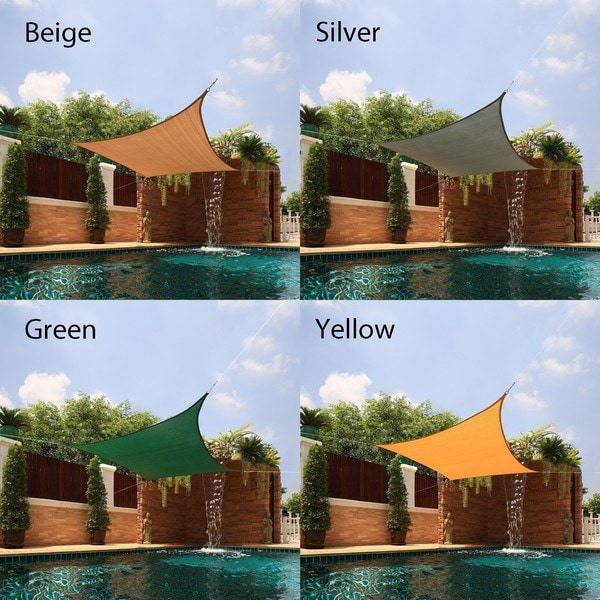 Small Square Sail Sun Shade. Opens flyout.