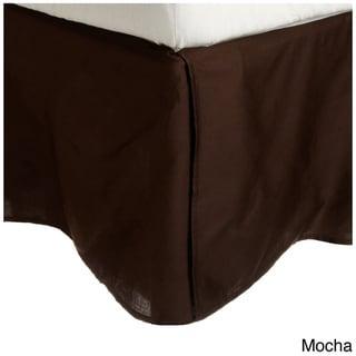 Superior 100-percent Premium Long-staple Combed Cotton 300 Thread Count 15-inch Drop Flat Design Bedskirt