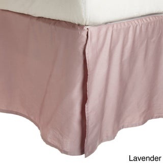 Superior 300 Thread Count Combed Cotton Sateen 15-inch Drop Bedskirt (More options available)