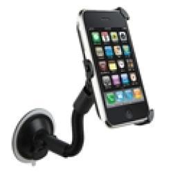 Black Windshield Mount Holder for Apple iPhone 3G/3GS