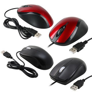 Link to INSTEN Red/ Black USB Optical Scroll Wheel Mouse (Right Handed) Similar Items in Keyboards & Mice