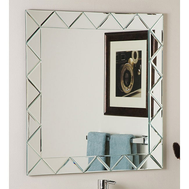 Luciano Frameless Wall Mirror Free Shipping Today