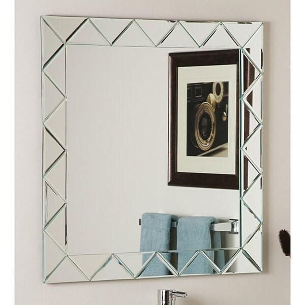 Shop Luciano Frameless Wall Mirror Silver A N Free
