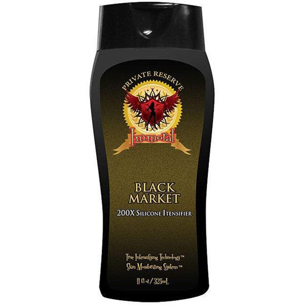 Immoral Black Market 11-ounce 200X Silicone Tanning Intensifier