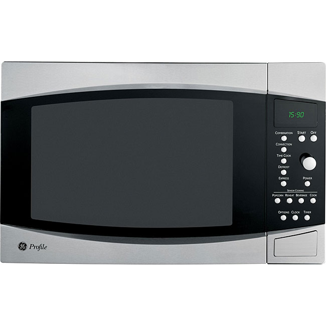 GE Profile 1.5-cubic-foot Stainless Steel Convection Microwave Oven