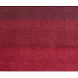 Hand-tufted Red Stripes Wool Runner Rug (2'6 x 12') - Thumbnail 1