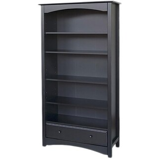 DaVinci Bookcase (Option: Ebony - Black Finish)