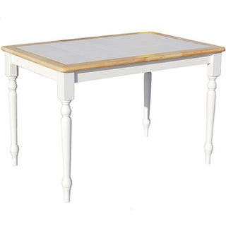Simple Living Tile Top Dining Table
