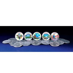 American Coin Treasures 2003 Colorized Statehood Quarters