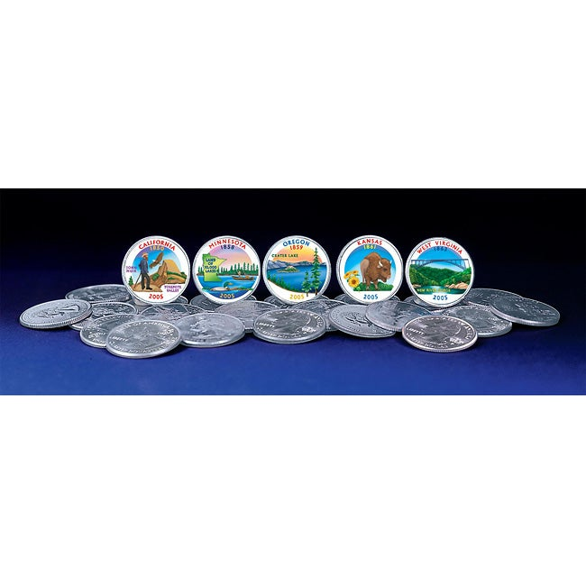 American Coin Treasures 2005 Colorized Statehood Quarters