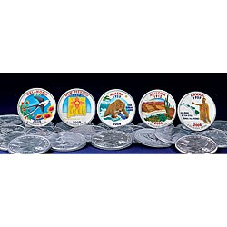 American Coin Treasures 2008 Colorized Statehood Quarters