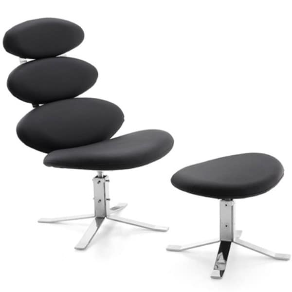Spinal Chair and Ottoman