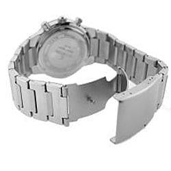 Le Chateau Cautiva Men's Black-Dial All-Steel Chronograph Watch - Thumbnail 2