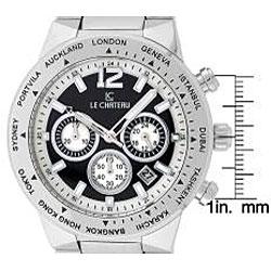 Le Chateau Cautiva Men's All Steel Chronograph Watch - Thumbnail 1