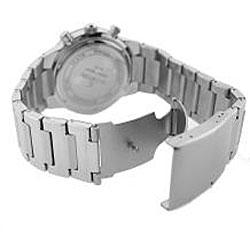 Le Chateau Cautiva Men's All Steel Chronograph Watch - Thumbnail 2