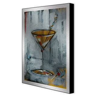 Gallery Direct Todd Graham 'Liquid Forms III' Framed Metal Art
