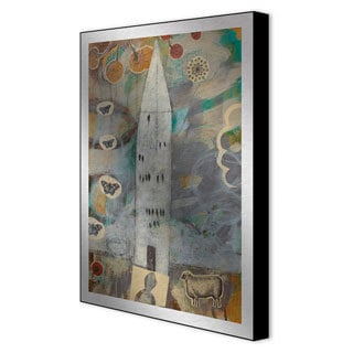 Gallery Direct Judy Paul 'Big House' Framed Metal Art