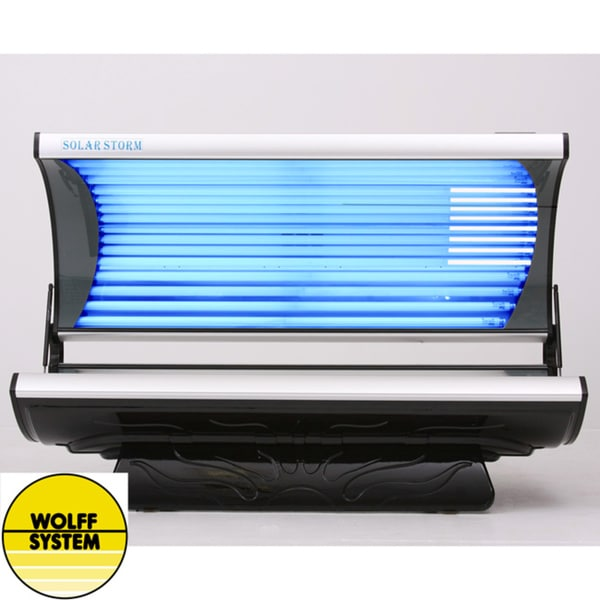 Shop Wolff Systems Solar Storm 32s 32 Lamp Tanning Bed Free
