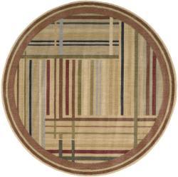 Nourison Somerset Multicolor Area Rug (5'6 Round) - Thumbnail 2