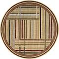 Nourison Somerset Multicolor Area Rug (5'6 Round)