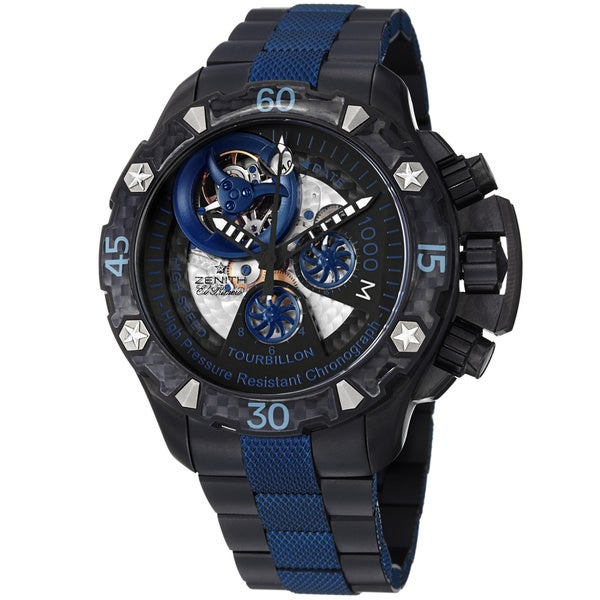 Zenith Defy Men's 96.0529.4035/51.M533 Xtreme Tourbillon Sea Skeleton Titanium Watch