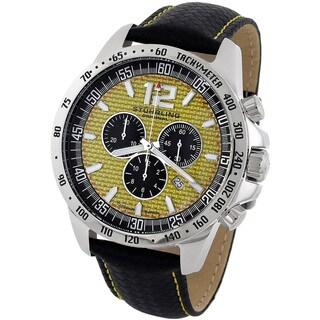 Stuhrling Original Men's 'Concorso' Chronograph Watch